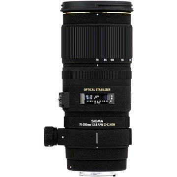 SIGMA 70-200mm F2.8 EX DG OS HSM pro Nikon (SI 589955) + ZDARMA Štětec na optiku Hama Lenspen