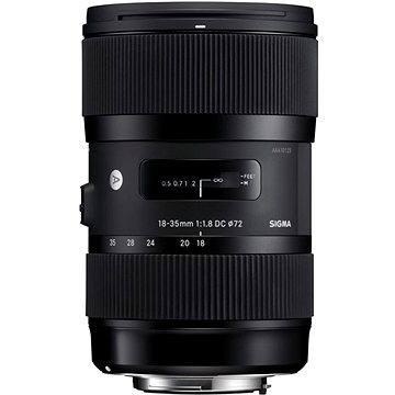 SIGMA 18-35mm f/1,8 DC HSM pro Canon ART (14113100) + ZDARMA UV filtr HOYA 72mm FUSION Antistatic