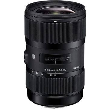 SIGMA 18-35mm F1.8 DC HSM pro Pentax ART (12113400) + ZDARMA Štětec na optiku Hama Lenspen