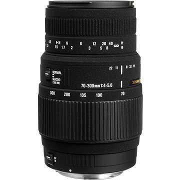 SIGMA 70-300mm F4.0-5.6 DG MACRO pro Sony (SI 509347) + ZDARMA Štětec na optiku Hama Lenspen