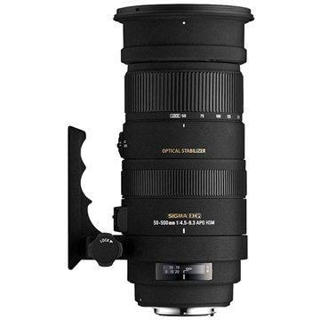 SIGMA 50-500mm F4.5-6.3 APO DG OS HSM pro Canon (SI 738954) + ZDARMA Štětec na optiku Hama Lenspen