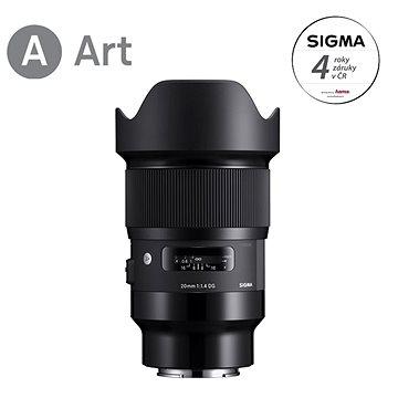 SIGMA 20mm f/1.4 DG HSM ART pro Sony E (SI 412965)