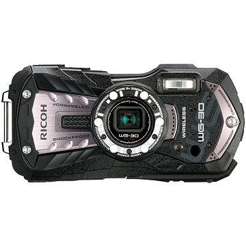 PENTAX RICOH WG-30 Wi-fi Carbon grey + 16 GB SD karta + neoprénové pouzdro + plavací řemínek (462200)