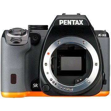 PENTAX K-S2 černo/oranžový (13175) + ZDARMA Poukaz Elektronický dárkový poukaz Alza.cz v hodnotě 1000 Kč, platnost do 28/2/2017