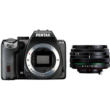 PENTAX K-S2 černý + 18-50mm WR (11598) + ZDARMA Fotobrašna Lowepro Format TLZ 20