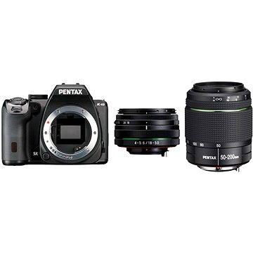 PENTAX K-S2 černý + 18-50WR + 50-200WR (11609)