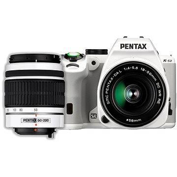 PENTAX K-S2 bílý + 18-50WR + 50-200WR (12613)