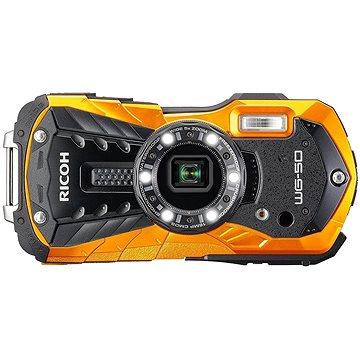 RICOH WG-50 oranžový + plovoucí poutko + neoprénové pouzdro (0458204 )