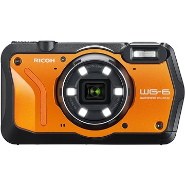 RICOH WG-6 oranžový (3852)
