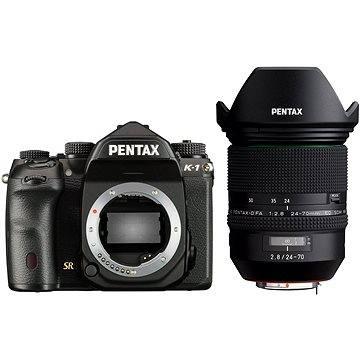 PENTAX K-1 černý + FA 24-70 WR (1956700)