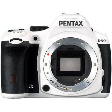PENTAX K-50 tělo bílé (10927)