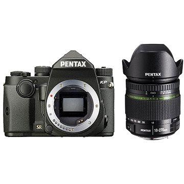 PENTAX KP černý + DA 18-270 mm (1601702)