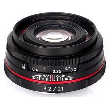 PENTAX HD DA 21mm F3.2 AL LIMITED (21410) + ZDARMA Štětec na optiku Hama Lenspen