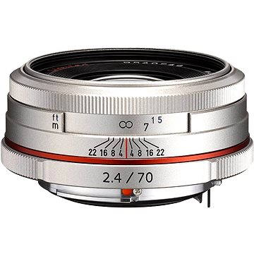 PENTAX HD DA 70mm F2.4 Limited. Silver (21440)