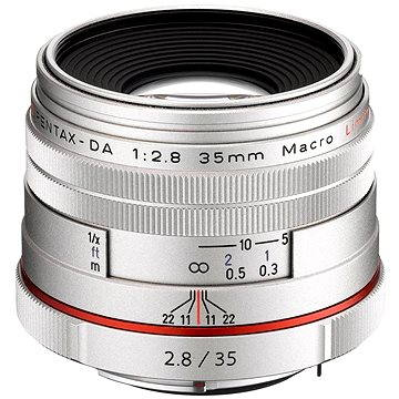 PENTAX HD DA 35mm F2.8 Macro Limited. Silver (21460)