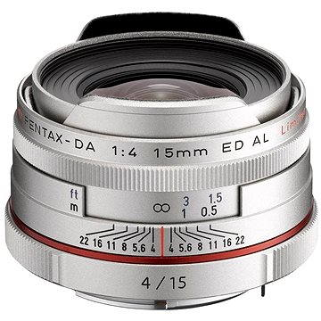 PENTAX HD DA 15mm F4 ED AL Limited. Silver (21480)