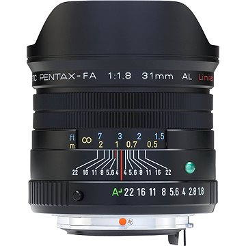 PENTAX smc FA 31mm F1.8 Ltd. Black (20290)