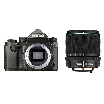 PENTAX KP černý + 18-135 mm WR (1601701)