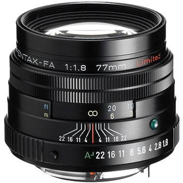 PENTAX smc FA 77mm F1.8 Ltd. Black (27980)