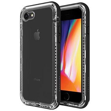 LifeProof Next pro iPhone 7/8 průhledné - černé (77-57190)