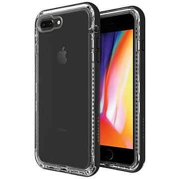 LifeProof Next pro iPhone 7+/8+ průhledné - černé (77-57194)