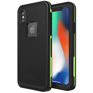 LifeProof Fre pro iPhone X - černé (77-57163)