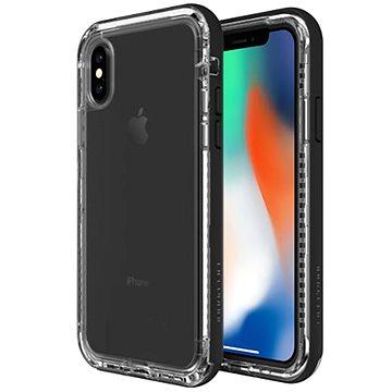 LifeProof Next pro iPhone X průhledné - černé (77-57186)