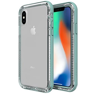 LifeProof Next pro iPhone X průhledné - světlá zelená (77-57188)