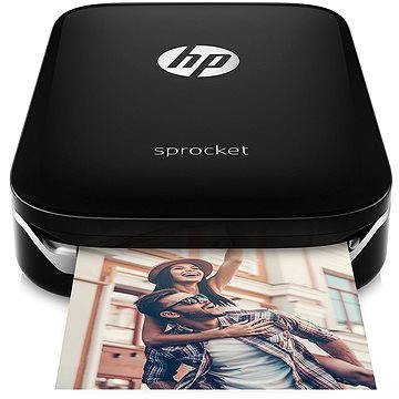 HP Sprocket Photo Printer černá (Z3Z92A)