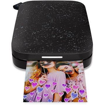 HP Sprocket 200 Photo Printer černá (1AS86A)
