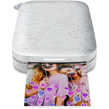 HP Sprocket 200 Photo Printer Luna Pearl (1AS85A)