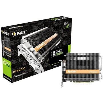 PALIT GeForce GTX 1050 Ti KalmX (NE5105T018G1-1070H)