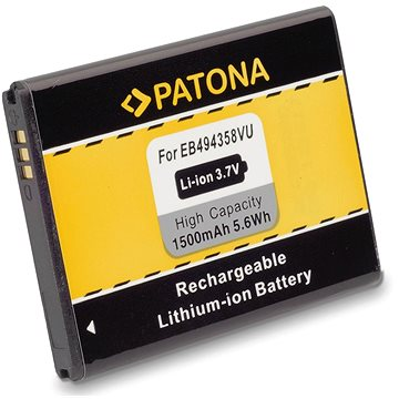 PATONA pro Samsung EB-494358VU 1500mAh 3,7V Li-Ion (PT3006)