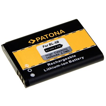 PATONA pro Nokia BL-5B 1000mAh 3.7V Li-Ion (PT3033)