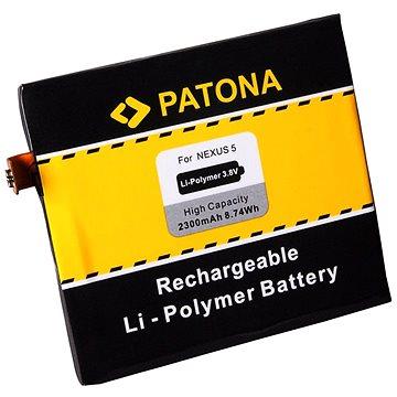 PATONA pro LG Nexus 5 D820 2300mAh 3,8V Li-pol BL-T9 (PT3090)