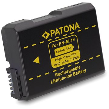 PATONA pro Nikon ENEL14 1030mAh new model Li-Ion (PT1134)