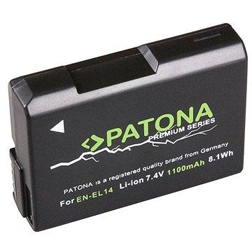 PATONA pro Nikon EN-EL14 1050mAh Li-Ion Premium (PT1197)