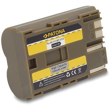 PATONA pro Canon BP-511 1300mAh Li-Ion (PT1008)