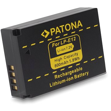 PATONA pro Canon LPE12 800mAh Li-Ion (PT1141)