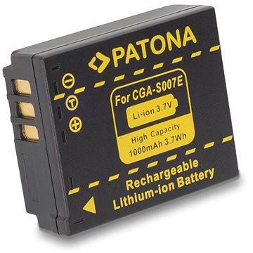 PATONA pro Panasonic S007E Li-Ion 1000mAh Li-Ion (PT1043)