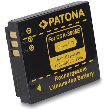 PATONA pro Panasonic CGA-S005 1000mAh Li-Ion (PT1041)