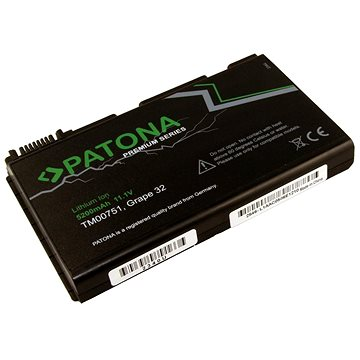 PATONA pro ntb ACER EXTENSA 5220 5200mAh Li-Ion 11.1V PREMIUM (PT2340)