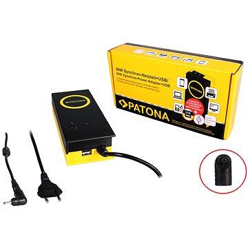 PATONA k ntb/ 19V/4.7A 90W/ konektor 3x1.1mm/ + výstup USB (PT2610)