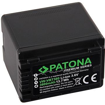PATONA pro Panasonic VW-VBT380 4040mAh Li-Ion Premium (PT1257)
