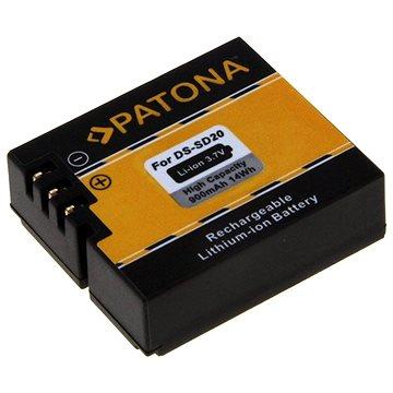 PATONA pro Rollei DS-SD20 900mAh Li-Ion (PT1234)