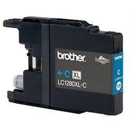 Brother LC-1280XLC azurová (LC1280XLC)