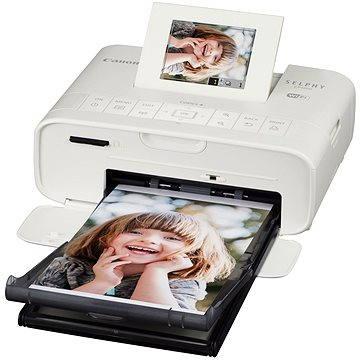 Canon SELPHY CP1200 bílá (0600C002) + ZDARMA Papíry a folie Sada Canon papír + folie pro termosublimační tiskárny KP-36IP