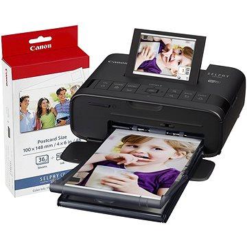 Canon SELPHY CP1300 černá + papíry KP-36 (2234C012)