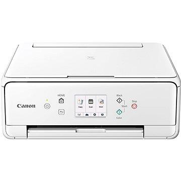 Canon PIXMA TS6151 bílá + papíry PP-201 13x13cm 20stran (2229C041)