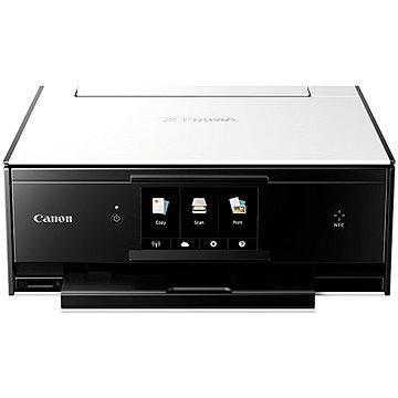 Canon PIXMA TS9050 bílá (1371C006) + ZDARMA Kancelářský balík Microsoft Office 365 pro jednotlivce s 1TB úložištěm – jen při nákupu nového PC, notebooku nebo MAC